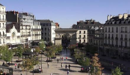 centre-ville de Dijon