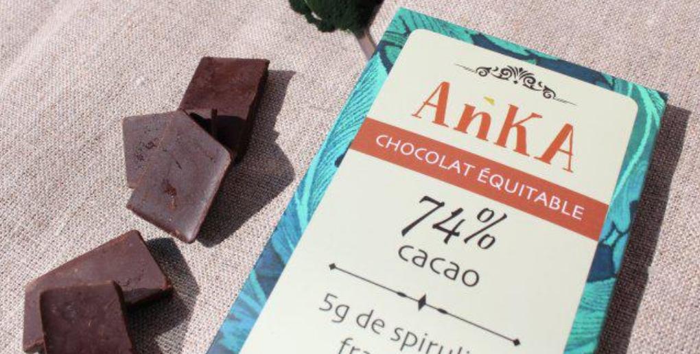 chocolat à base d'algues
