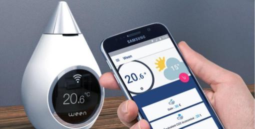 thermostat connecté et autonome ween