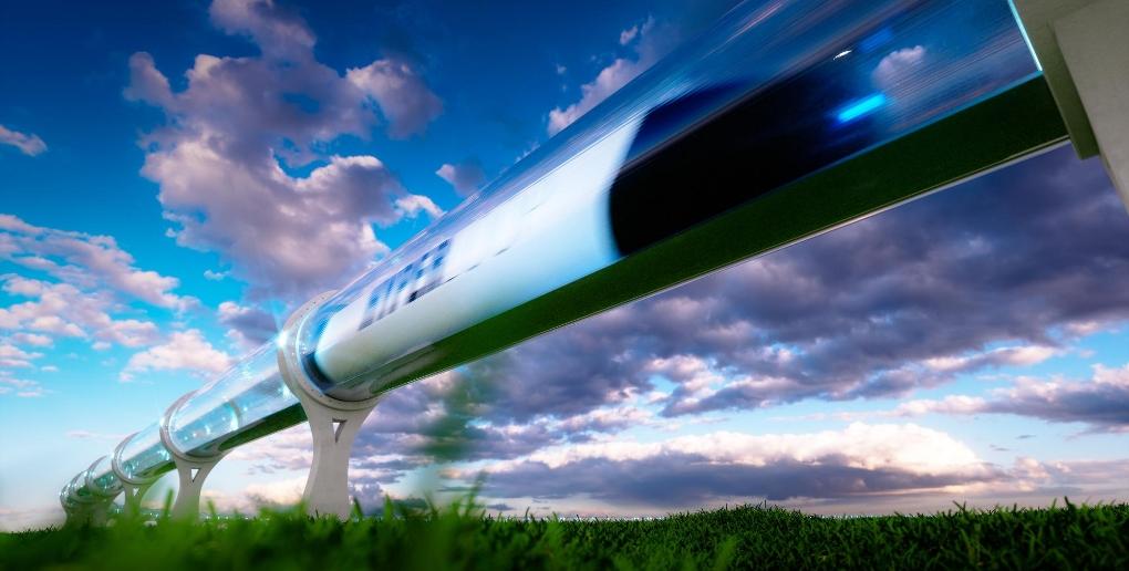 projet de ligne hyperloop