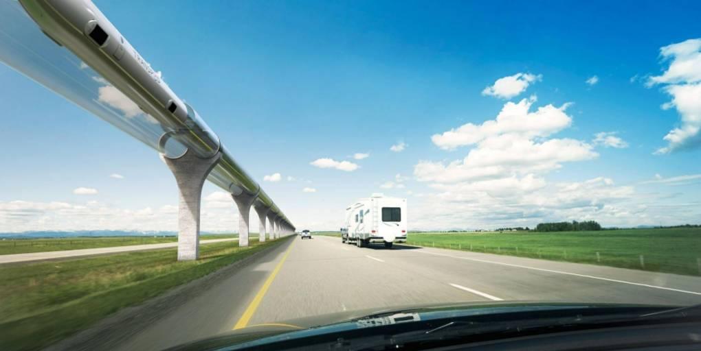 Hyperloop voitures
