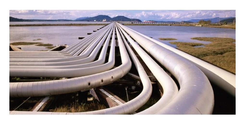 gazoduc transportant du GNL