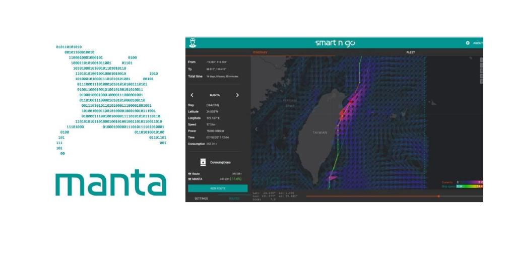 la solution Manta pour optimiser les routes maritimes