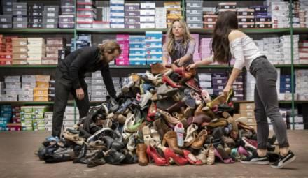 comerso et besson chaussures opération valorisation des invendus