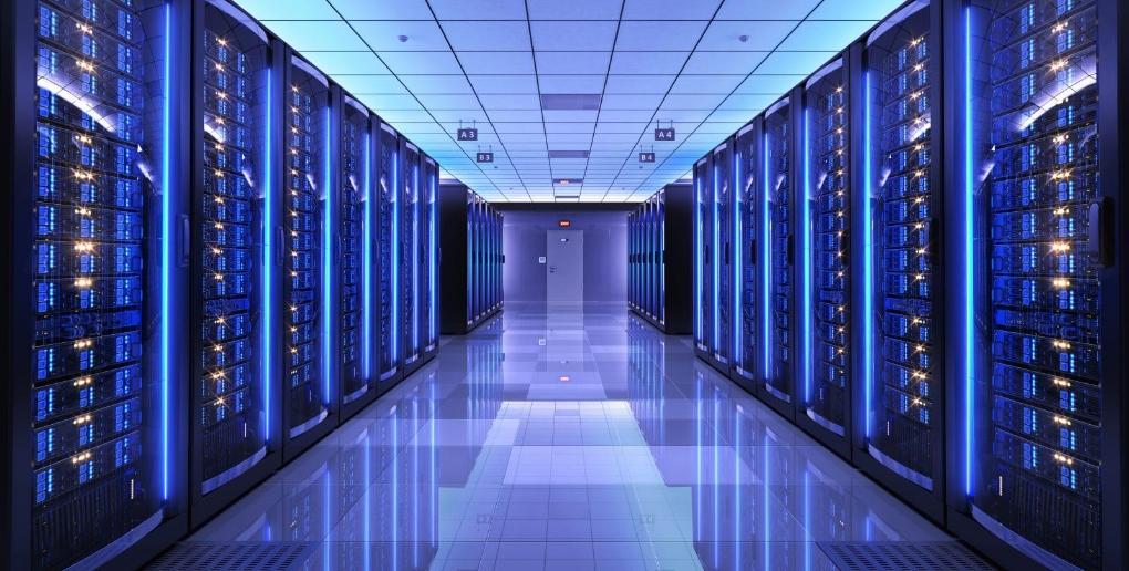 data center permettant le stockage et la transmission de l'information