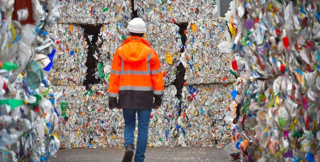 plastique non recyclé