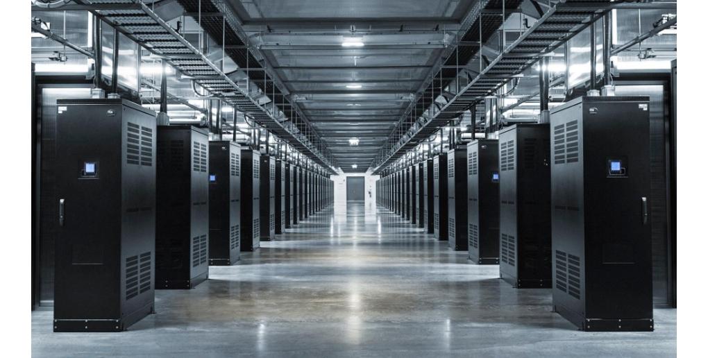 Les racks de serveurs qui composent les data centers