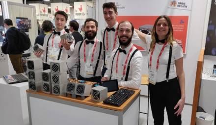 équipe du pavé parisien au CES Las Vegas