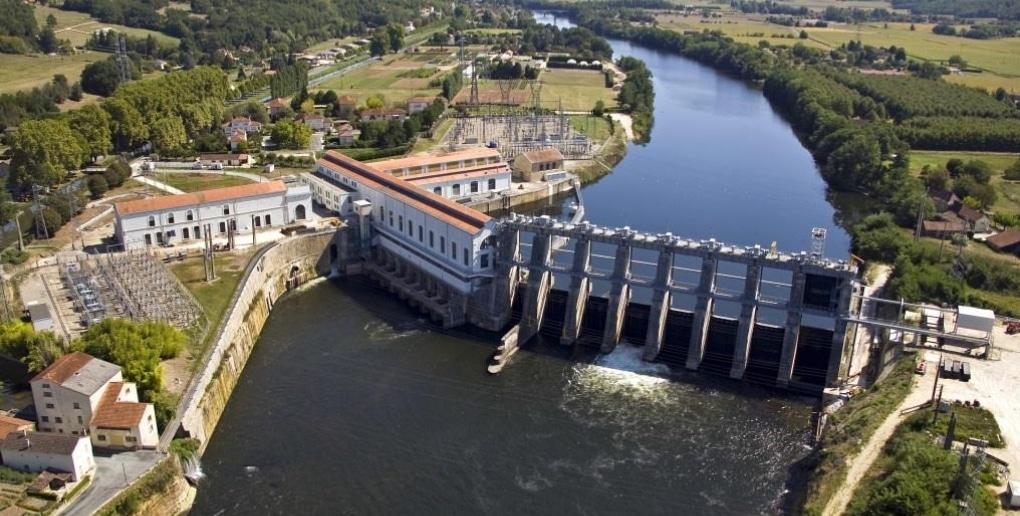 centrale hydroelectrique tuilières france