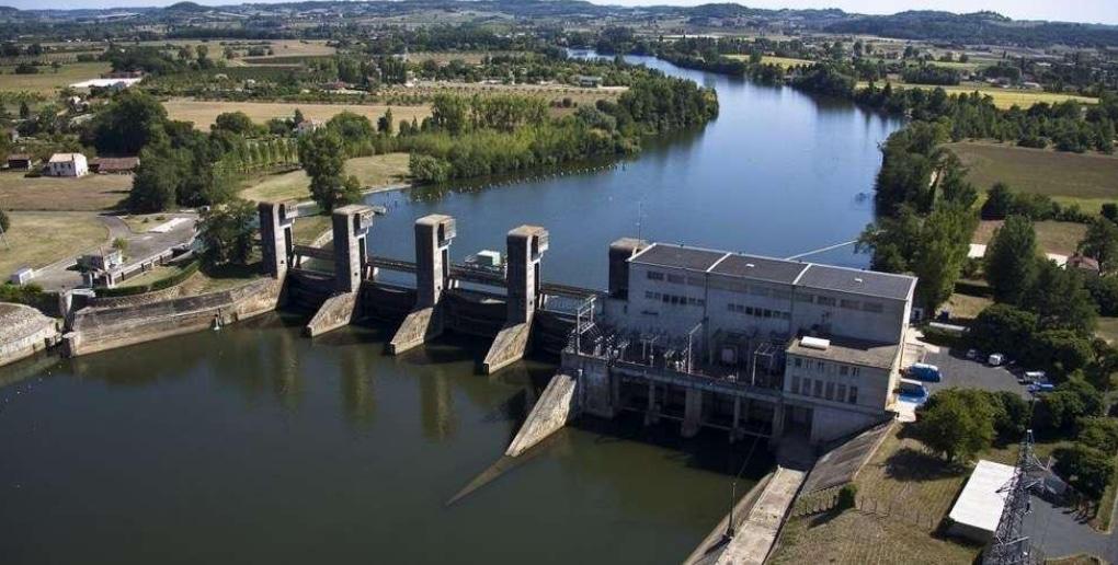 centrale electricité hydraulique france
