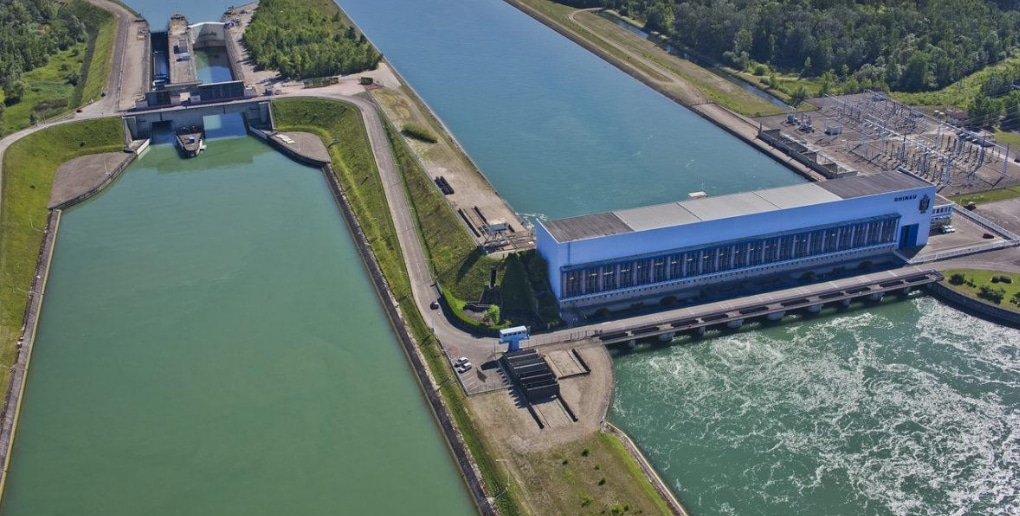 centrale hydroélectricité Rhinau France
