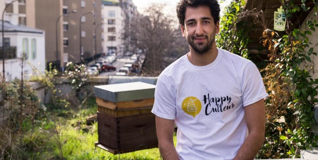 Rémi co-fondateur Happyculteur
