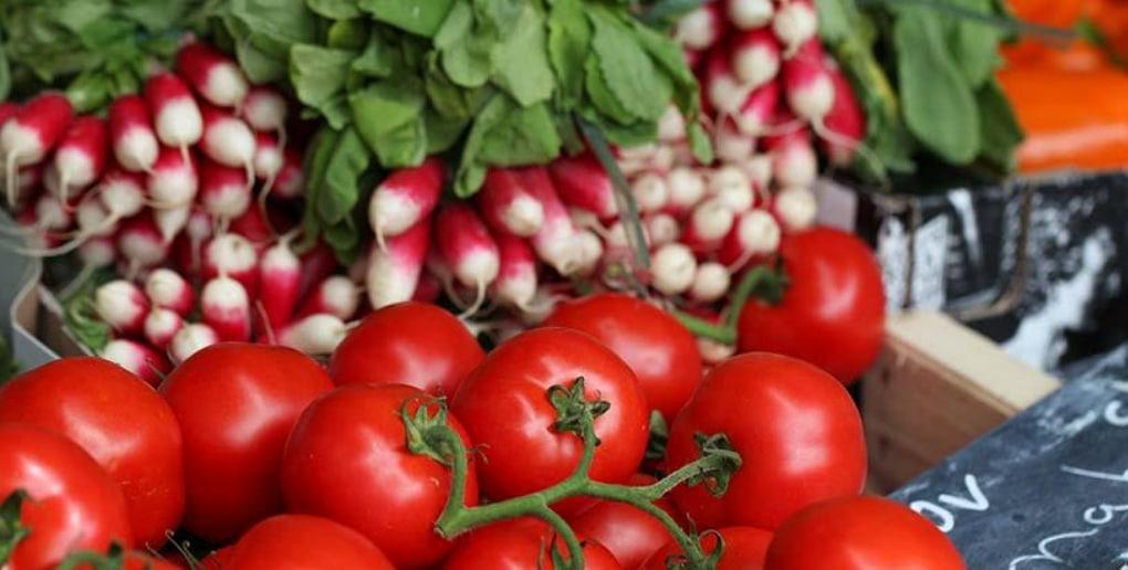 tomates et radis