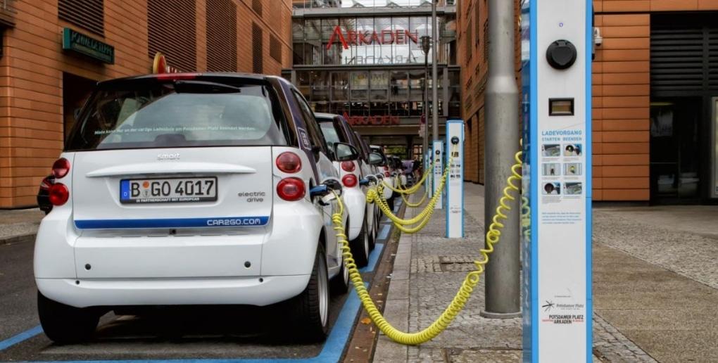 borne recharge véhicule electrique