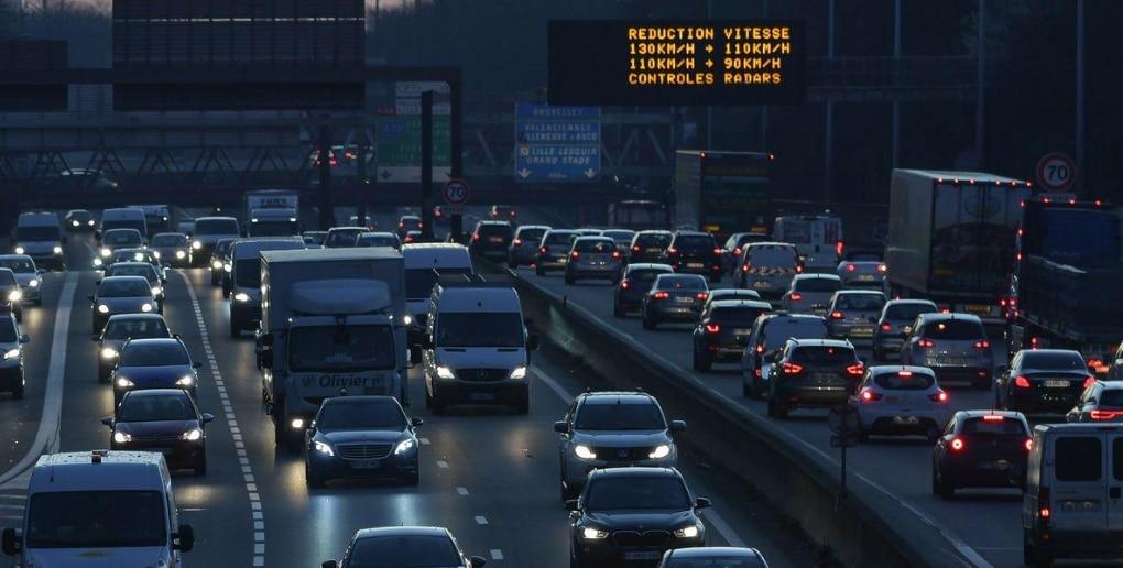 embouteillage périphérique parisien