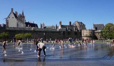 miroir eau Nantes