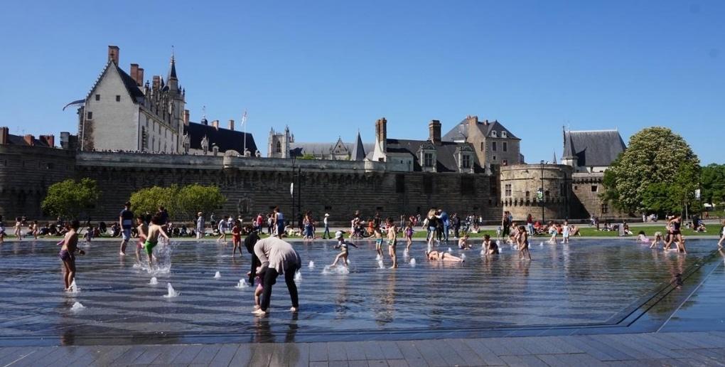 miroir d'eau Nantes