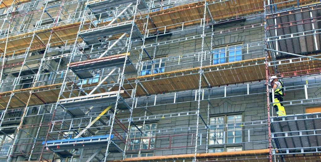 rénovation d'un bâtiment