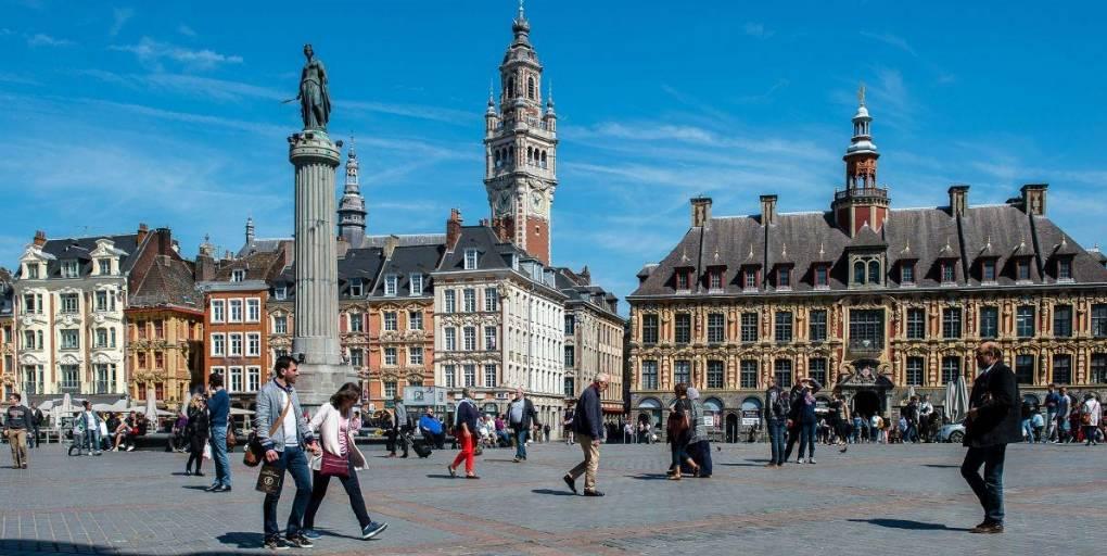 Centre-ville de Lille