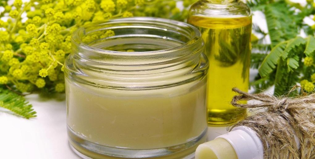 cosmétique crème plantes