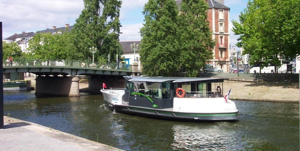 transport fluvial Nantes