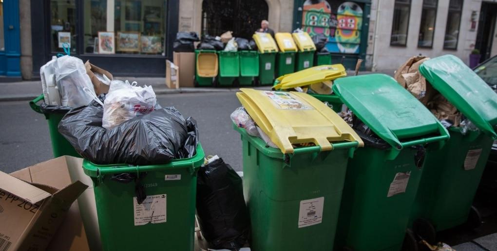 poubelles rues