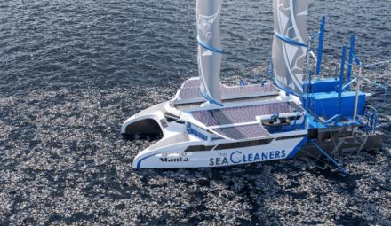 The SeaCleaners bateau