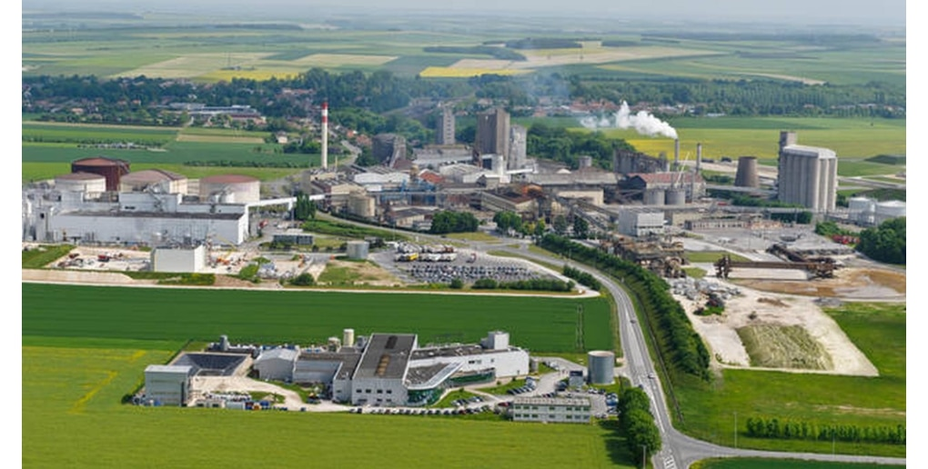 La Bioraffinerie de Bazancourt-Pomacle près de Reims