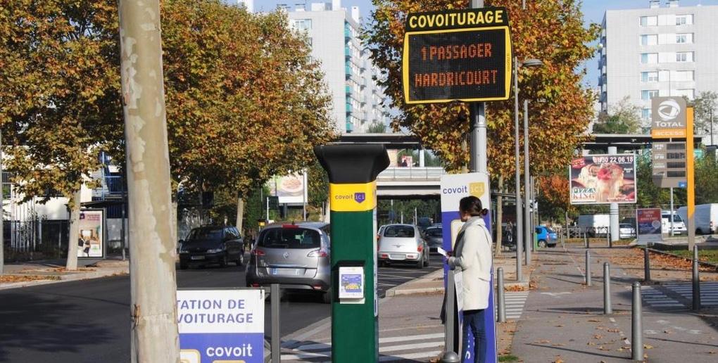 station covoiturage ecov