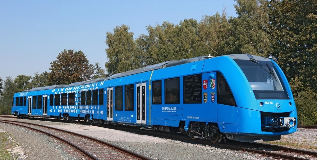 locomotive hydrogène.