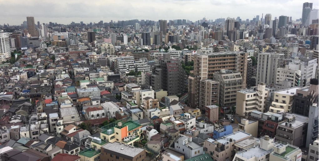 tokyo ville dense
