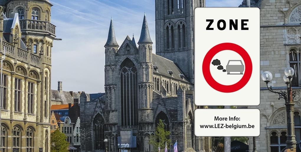 ZFE à Gand en Belgique