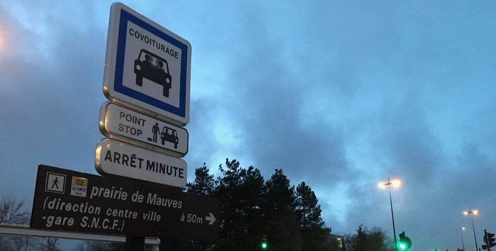 arrêt covoiturage Nantes