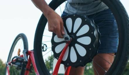 roue électrique teebike