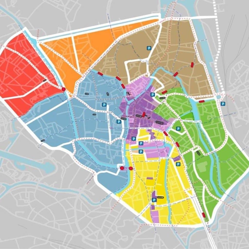 plan de circulation Gand