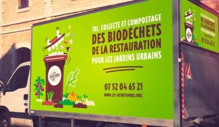 les détritivores bordeaux biodéchets