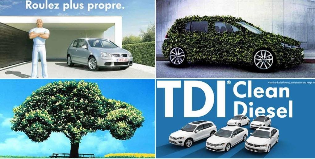 Volkswagen publicité greenwashing