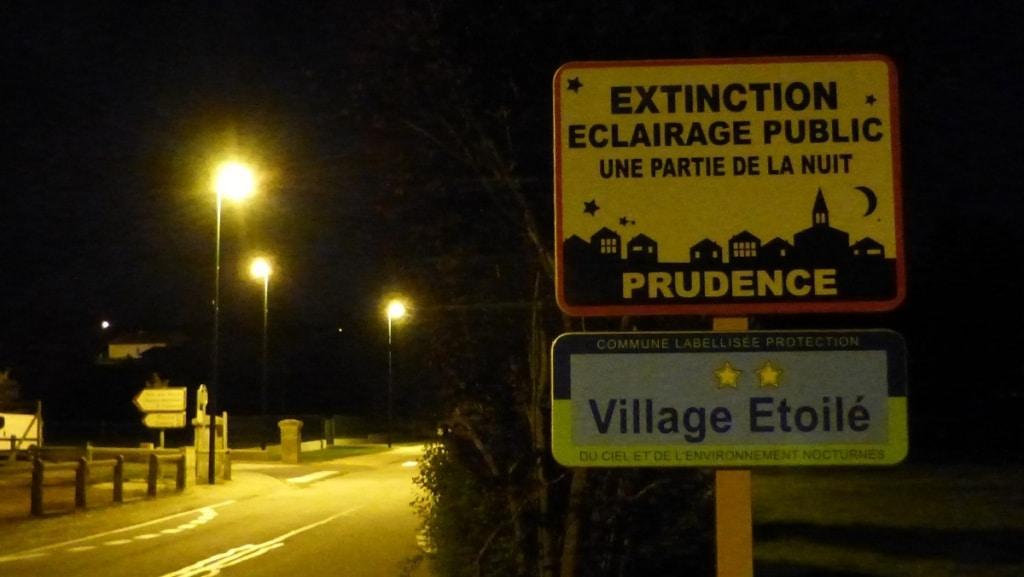 extinction éclairage public