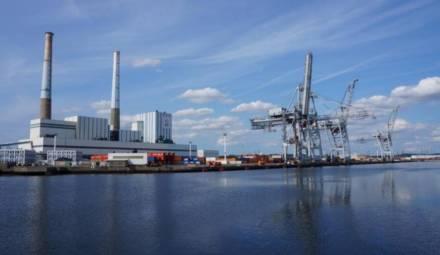 centrale charbon Le Havre