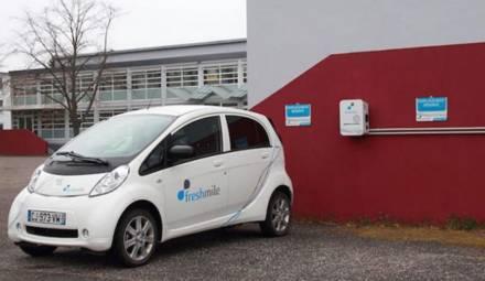 freshmile borne recharge électrique
