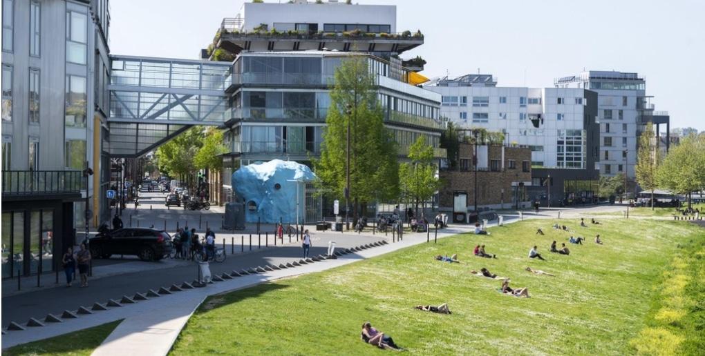 Ile de Nantes, école d'Architecture