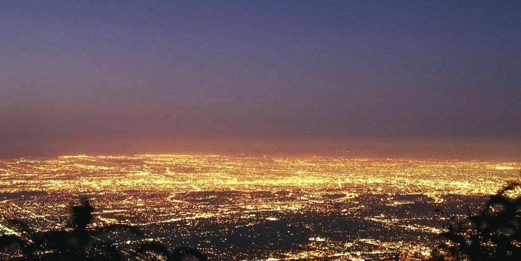 pollution lumineuse ville
