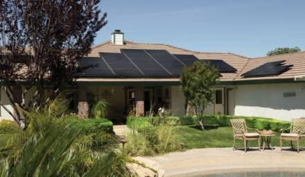 panneaux solaires résidentiels