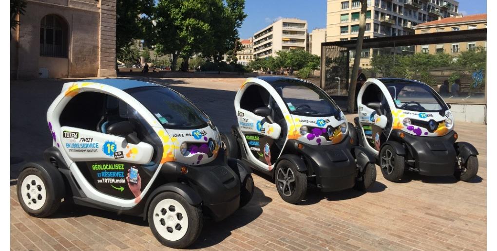 Le service de car sharing de Totem Mobi