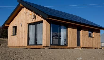 Maison écologique solaire box