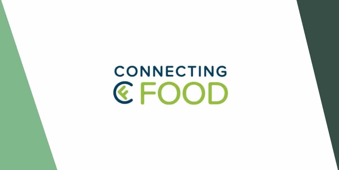 logo connecting food