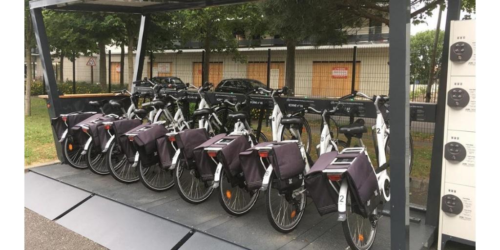 vélopartage mis en place par Mobility Tech Green chez  l'ESN Expleo