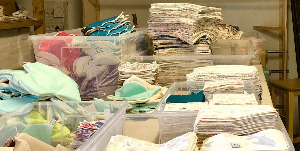 Marcia Création confectionne des produits zéro déchet à partir de coton et tissus biologique et non toxique