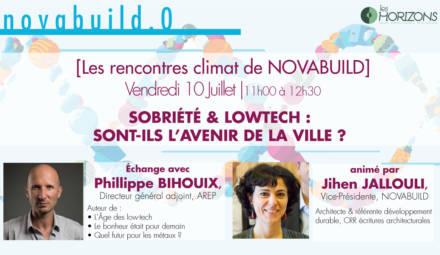 rencontre_climat novabuild Philippe Bihouix