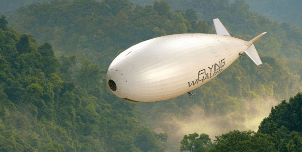 ballon dirigeable flying whales